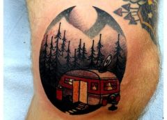 Tatuaje caravana