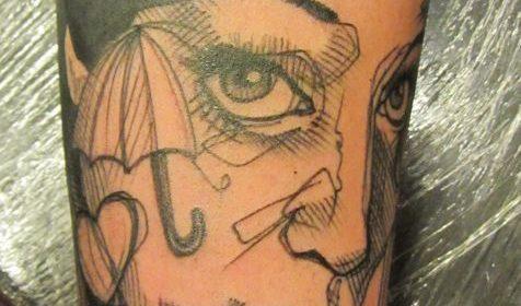Tatuaje de gamba