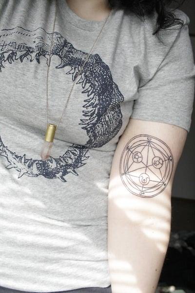 Tatuaje de Fullmetal Alchemist