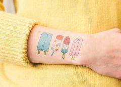 Tatuaje helados