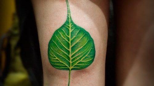 Tatuaje de círculo negro