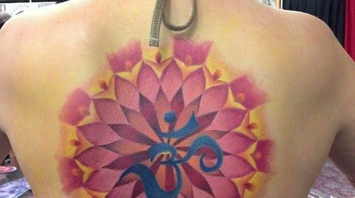Tatuaje de las puertas de Moria
