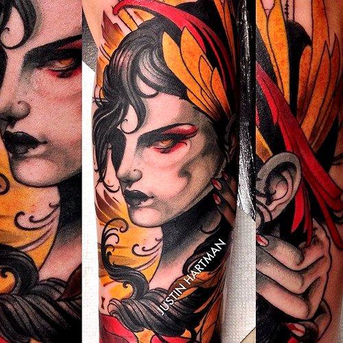 Tatuaje vampiresa