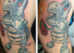 Tatuaje Dry Bones