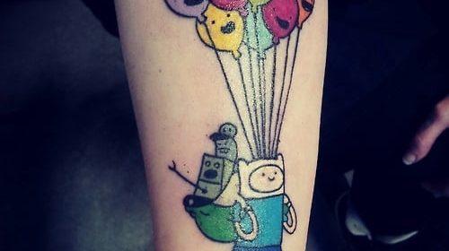 Tatuaje de lobo de mar