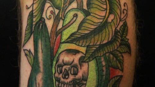 Tatuaje de símbolos de Poker