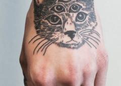 Tatuaje gato multiples ojos