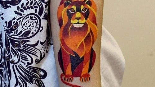 Tatuaje de Londres antiguo