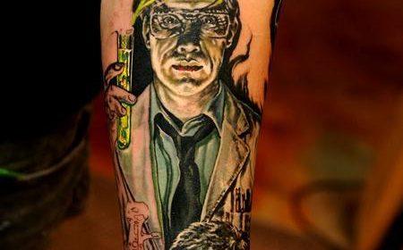 Tatuaje de The Ring
