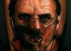 Tatuaje Hannibal Lecter