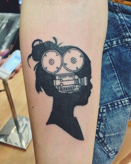 Tatuaje cinematográfico