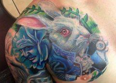 Tatuaje de Alicia