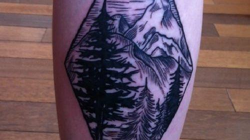 Tatuaje de ninfa marina