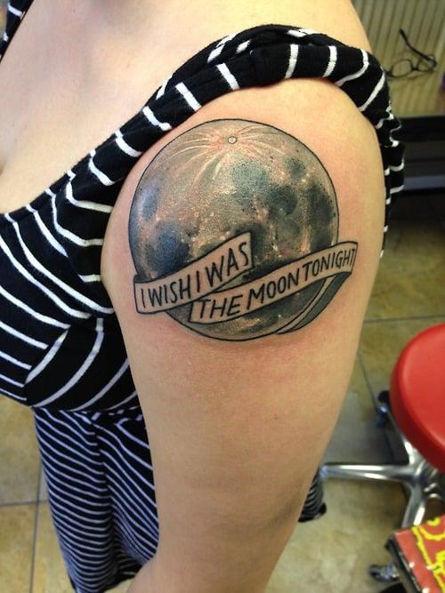 Tatuaje luna llena
