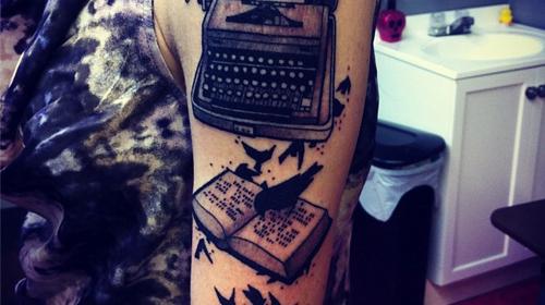 Tatuaje de máquina de la fortuna