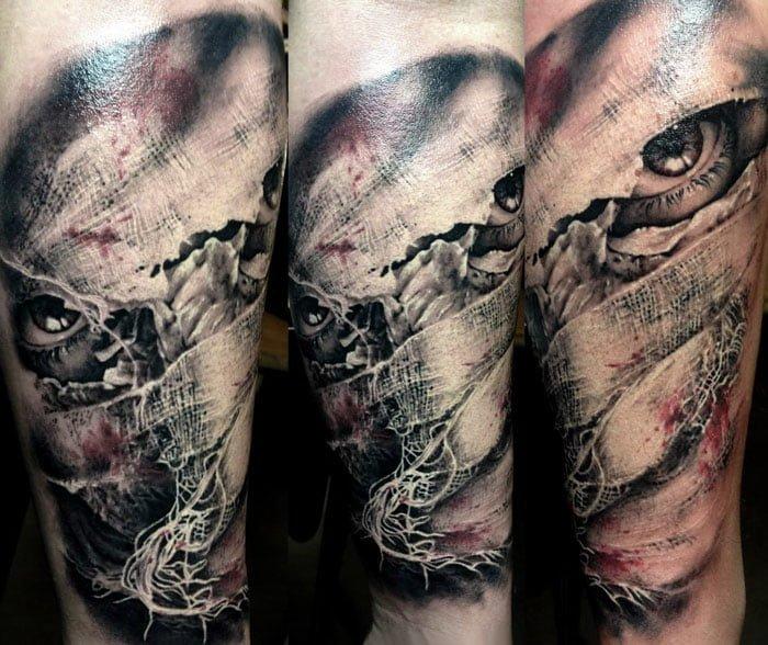 Tatuaje momia