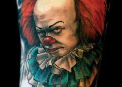 Tatuaje payaso Pennywise