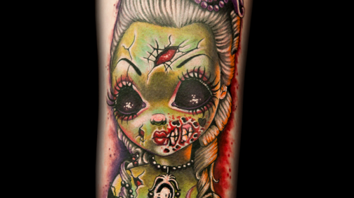 Tatuaje de calabaza de Halloween