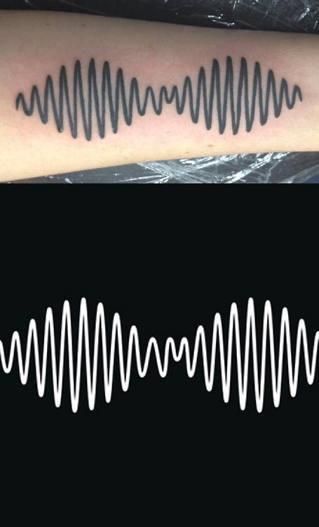Tatuaje Arctic Monkeys