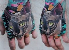 Tatuaje Sphynx