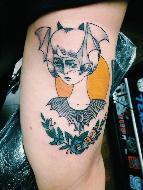 Tatuaje Batgirl