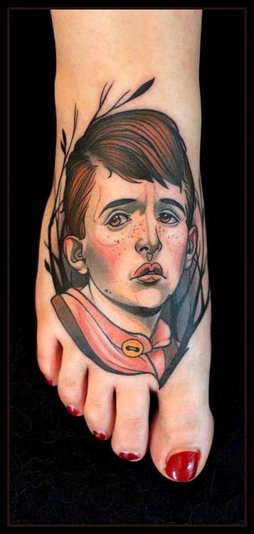 Tatuaje chico triste