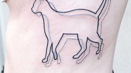 Tatuaje de patos