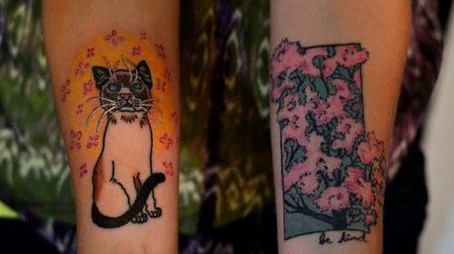 Tatuaje de gecko leopardo