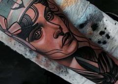 Tatuaje mujer marinera