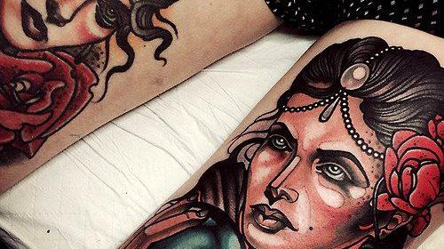Tatuaje de samurai