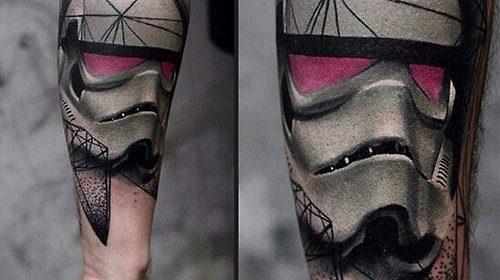 Tatuaje de parte movible de oiuja