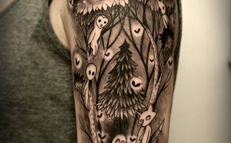 Tatuaje de taza y tetera