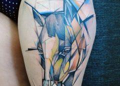 Tatuaje cabeza de caballo