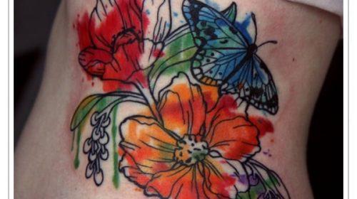 Tatuaje de máquina de tatuar