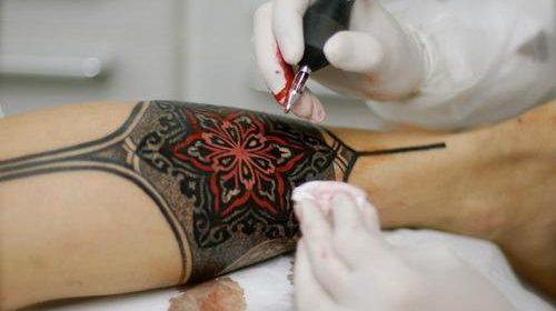 Tatuaje de pez verde
