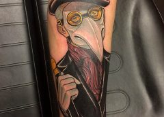 Tatuaje hombre pingüino