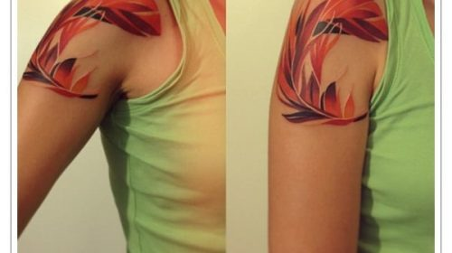 Tatuaje de carnero en el brazo