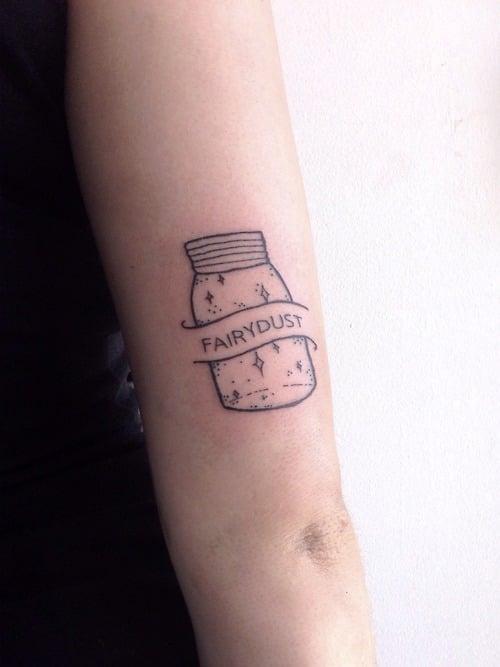 Tatuaje polvo de hada