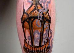tatuaje farol fantasmal