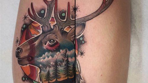 Tatuaje de mariposa de El Señor de los Anillos