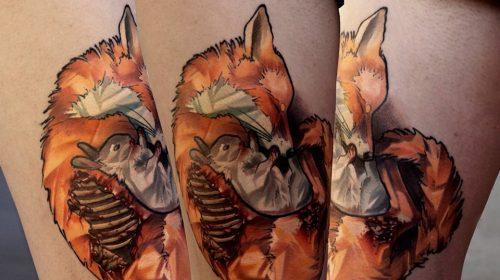 Tatuaje de Cardenal de Virginia