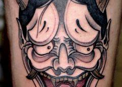 Tatuaje diablo japonés