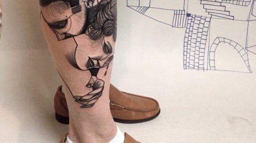 Tatuaje de ballena en el brazo
