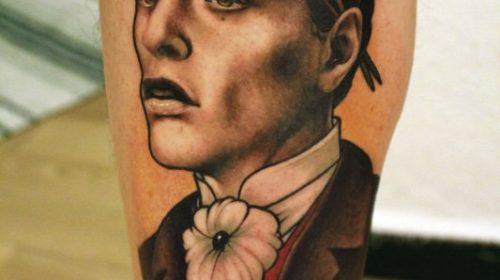 Tatuaje de día de los muertos