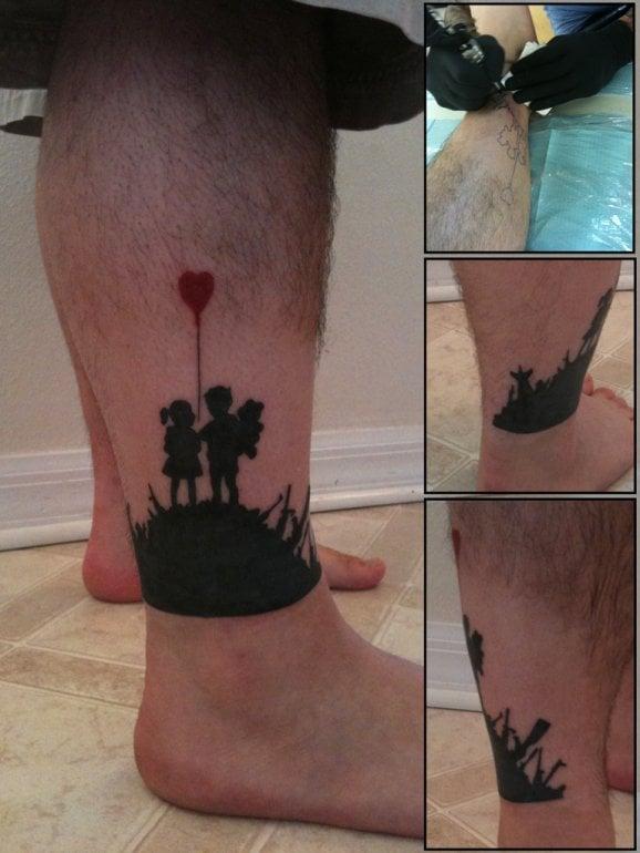 Tatuaje Kids on Guns