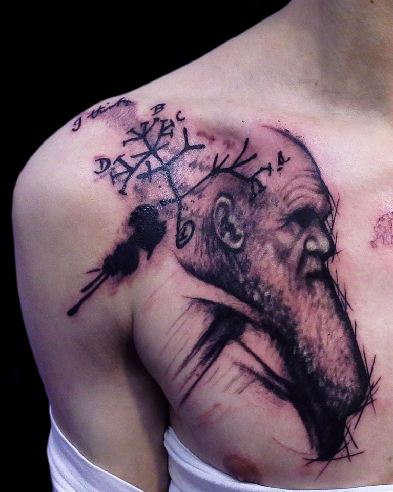 Tatuaje de Darwin