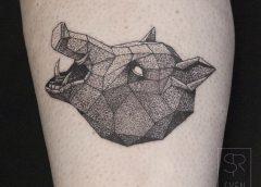Tatuaje jabalí