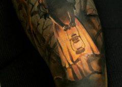 Tatuaje niña tenebrosa