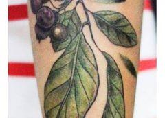 Tatuaje arándanos