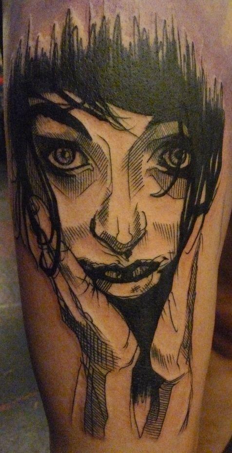 Tatuaje chica soñadora
